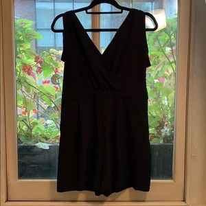 NWOT Zara Romper With Lace Back